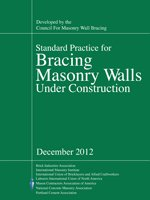 Standard Practice for Bracing Masonry Walls Under Construction - Dec 2012 Edition