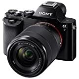 Sony Alpha 7 a7 Full Frame Mirrorless Camera 28-70mm full frame lens - ILCE-7K/B (Certified Refurbished)