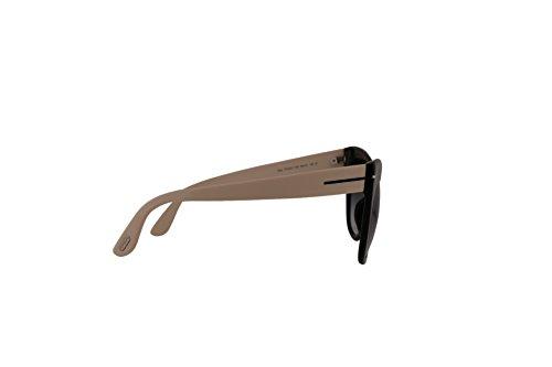 8021bd57a363 Tom Ford FT0523 Nika Sunglasses Shiny Black w Grey Gradient Lens 01B ...