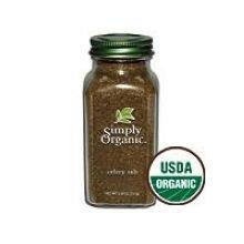 Simply Organic Celery Salt, 5.54 Ounce - 6 per case