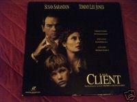 The Client LD laser disc wide screen laserdisc