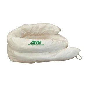 Absorbent Sock, 17 gal., 120 In. L, PK 3 by ZING