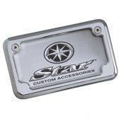 Yamaha STR-5PX27-01-01 Billet License Plate Frame Royal Star ()