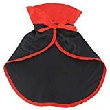 UEETEK Christmas Pet Costumes, Red Velvet Pet Cape Cat Halloween Costume, Pet Apparel Cosplay for Dogs Puppy and Cats -