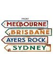 Costumes Supplies Australia (Beistle 55340 Australian Street Sign Cutouts, 4-Inch by 24-Inch, 4-Pack)