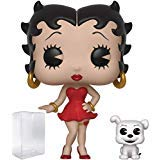 Funko Pop & Buddy: Betty Boop - Betty with Pudgy Vinyl Figure (Bundled with Pop Box Protector Case)