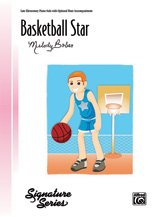 Alfred 00-41281 Basketball Star-Pno Sol Book