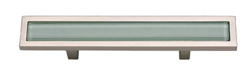 Atlas Homewares 231-GR-BRN Spa Green, 3 inch (76mm) Pull, Brushed Nickel Atlas Homewares Drawer Pulls