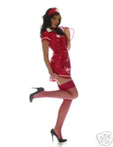 2290cb7ce39b0 Image Unavailable. Image not available for. Colour: Red PVC Ann Summers  Nurse Costume ...