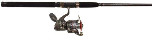 Quantum Fishing Optix Op80F/Ops102M Spin Fishing Rod and Reel Combo (Baitcast Rod Zebco)