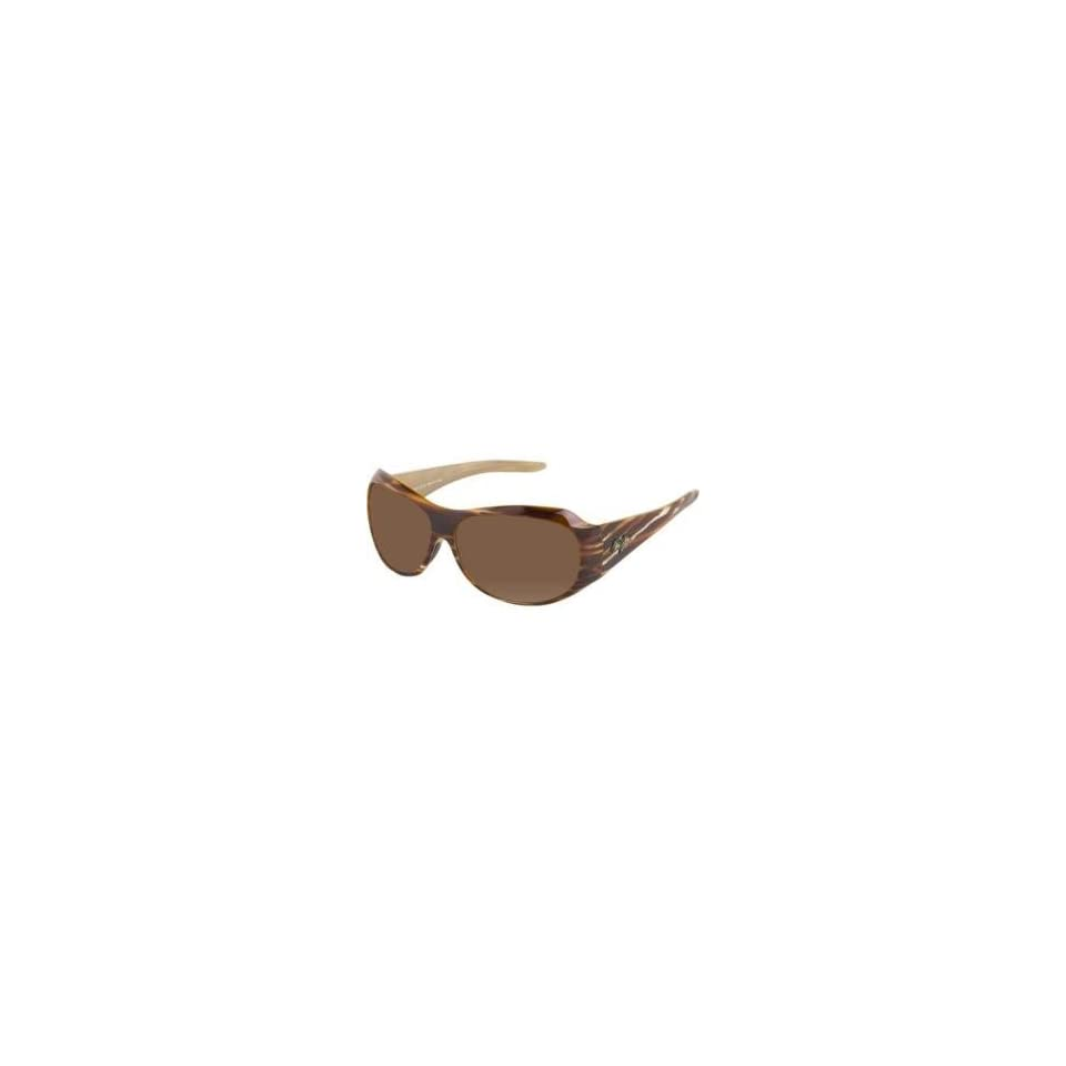 Maui Jim Lehua Sunglasses Koa Brown/HCL Bronze, One Size