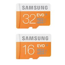 f94fc62bd Image Unavailable. Image not available for. Colour  Tfpro Samsung EVO 16GB  and 32GB Class 10 Micro SDHC Memory Card- 2Pcs Combo