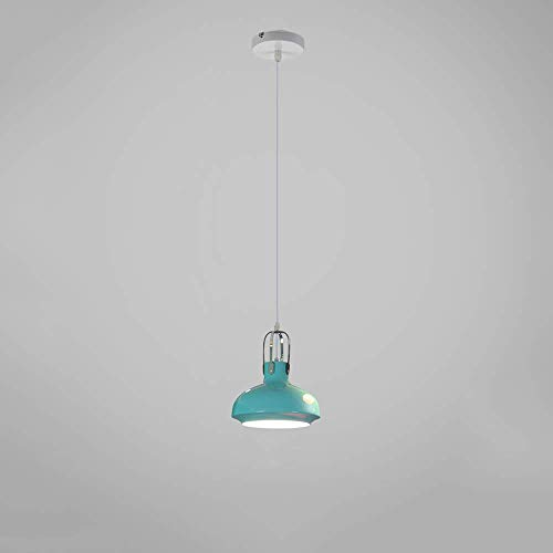 (SNQKMLEP Nordic Macaron Wrought Iron Pendant Light Lamps Modern Simple Personality Night Blanket Hanging Light Decoration Bar Restaurant Cafe Creative Chandelier Lighting (Color: Pink))