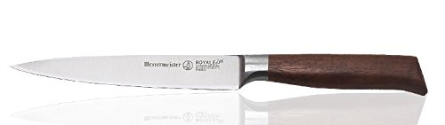 Messermeister Royale Elite 6'' Utility Knife with Walnut Burl Handle by Messermeister