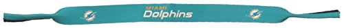 NFL Miami Dolphins Neoprene Sunglass Strap, - Sunglasses Miami Blues