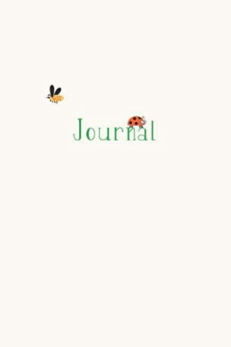 - Journal: Cute Bug Notebook for Girls