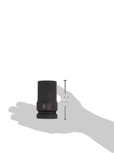 Sunex 536D 1 Drive Deep 6 Point Impact Socket 1-1//8 Sunex International