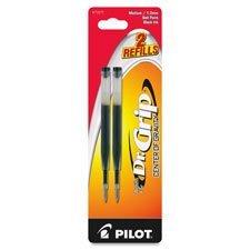 (Pilot Pen Corporation of America : Refill For Dr. Grip Center of Gravity Pen, Med, 2/PK, Blue (77272)-:- Sold as 2 Packs of - 2 - / - Total of)