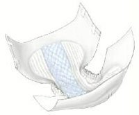Mfr #60034- Brief Incontinence Wings Choice Plus Poly Tape Lg 45-58 Blu 72/CS by, Kendall Company