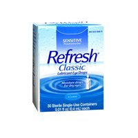 Refresh Refresh Classic Lubricant Eye Drops Single-Use Containers, 30 ct (Pack of 3)
