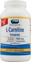 Vitacost L-Carnitine Fumarate -- 500 mg - 300 Capsules by Vitacost Brand