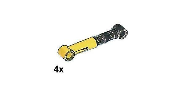 LEGO Technic 2 pcs LIGHT GREY SHOCK ABSORBER 6.5L SOFT Spring Suspension Part