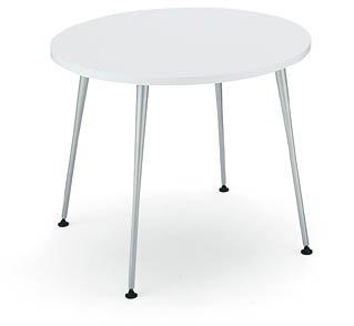 コクヨ イートイン シリーズ テーブル リフレッシュテーブル 4本脚 高さ700mmタイプ 天板寸法 直径750mm メラミン化粧板 メッキ脚 天板カラー:P16(ナチュラル) B00AT83046 P16(ナチュラル) P16(ナチュラル)