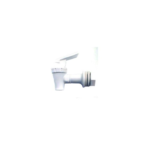 Cambro 46017 Replacement Faucet for Cambro DSPR6 6-Gallon Beverage Dispenser, White