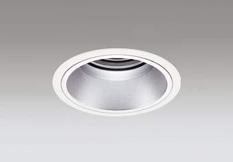 ODELIC LEDベースダウンライト グレアレス CDM-T70W相当 オフホワイト銀色 34° 埋込穴Φ125mm 白色 4000K M形 一般型 専用調光器対応 XD402406 (電源調光器信号線別売) B07PPSP81C