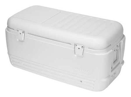 - Igloo Quick And Cool 100 Cooler 100 Qt 16.75 In. H X 17.38 In. W X 35.25 In. D White