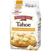 PACK OF 12 - Pepperidge Farm Tahoe White Chocolate Macadamia Crispy Cookies 7.2 oz. Bag
