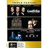 Robert De Niro Triple Feature 3 Movie Pack (Heat; Once Upon A Time In America & Goodfellas) [PAL/REGION 4 DVD. Import-Australia]