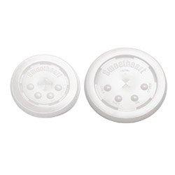 Solo L1624B Translucent Plastic Bubble Lid Fits S16J and R24J (SCCL1624B) Category: Cup Lids