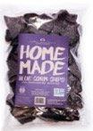 Home Made Blue Corn Chips 12oz (Pack of 4)
