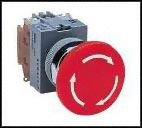 IDEC AVW402-R SWITCH, EMERGENCY STOP, 2NC, 600VAC