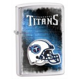Zippo NFL Brushed Chrome Tennessee  Titans Lighter