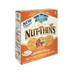Blue Diamond Natural Almond Nut-Thins Crackers Cheddar Cheese -- 16 oz