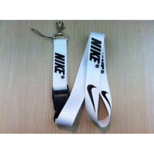 cheap Nike White Lanyard Keychain Holder