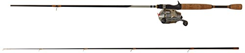 Zebco 33 Max Gold Medium Heavy Spincast Combo (2-Piece), 6.6-Feet