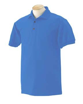 Gildan 6.1 oz. Ultra Cotton Jersey Polo, Carolina Blue, M