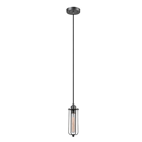Black Globe Pendant Light in US - 5