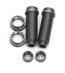 ST Racing Concepts ST3766XGM Aluminum Big Bore Threaded Rear Shock Bodies for Slash (Gun Metal)