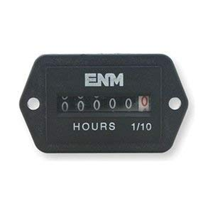 (Hour Meter, Electrical, 2-Hole Rectangular)