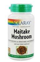 Solaray - la seta de Maitake, 600 mg, 100 cápsulas