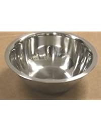 CheckOut 1 Quart Stainless Steel Mixing Bowl for Kitchen Pet Dog Cat Food (32 oz) lowestprice