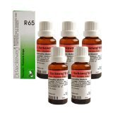 5 x Dr.Reckeweg-Germany R65- Homeopathic Medicine