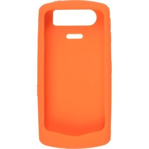 Original Silicone Case for BlackBerry 8110/8120/8130 Pearl, Orange -