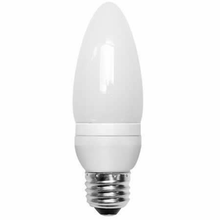 Compact Hour 2700k 8000 - (12-Pack) TCP 10714 14-Watt 2700K E26 Base CFL Decorative Torpedo Lamp, 60W Equivalent