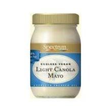 Spectrum Naturals Light Canola Eggless Vegan Mayonnaise, 16 Ounce - 6 per case.