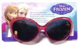 [Disney Frozen Anna Pink Sunglasses - 100% UVA & UVB Protection] (Baby Anna Costumes Frozen)